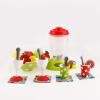 BOOM LIGHT Моделирование Мини-жизнь Маленькая бытовая техника DIY Соковыжималка Кухонная модель Toy Set XG1-1 27 шт.