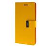 MOONCASE чехол для Asus Zenfone 5 Flip Leather Wallet Card Slot Bracket Back Cover Yellow чехол для asus zenfone 3 ze552kl asus view flip cover золотистый