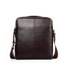p.koune 100% натуральная кожа мужчин Messenger сумки черный браун мужчин сумки мужчин плечом случайные сумок высокого качества, сумка brand design men vintage messenger bag 100