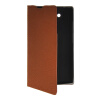 MOONCASE Slim Leather Side Flip Wallet Card Slot Pouch with Kickstand Shell Back чехол для Motorola Moto Maxx XT1225 Brown mooncase slim leather side flip wallet card slot pouch stand shell back чехол для motorola moto droid turbo xt1254 azure