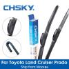CHSKY Автомобиль Стеклоочиститель для Toyota Land Cruiser Prado 1996 до NOW Автомобильный салфеткой Автоматический стеклоочиститель для автомобильных салазок автомобильный
