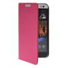 MOONCASE тонкий кожаный бумажник флип сторона держателя карты Чехол с Kickstand чехол для HTC Desire 616 ярко-розовый