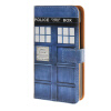 MOONCASE ЧЕХОЛ ДЛЯ Microsoft Lumia 435 Telephone booth Leather Flip Wallet Card Holder with Kickstand Back A04 чехлы для microsoft lumia 435