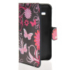MOONCASE Butterfly style Leather Side Flip Wallet Card Slot Stand Pouch чехол для Samsung Galaxy Star 2 Plus G350E