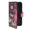 MOONCASE Butterfly style Leather Side Flip Wallet Card Slot Stand Pouch чехол для WIKO Barry luxury stand flip