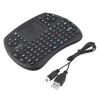 Мини 2,4 ГГц клавиатура мышь воздуха Пульт дистанционного управления Сенсорная панель для Android Smart TV черный сенсорная панель для свч samsung mbg45 m9g45