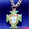 Поставки для вентиляторов Франция Испания Португалия Англия Аргентина Германия Цепь 70-75 см мм Золотые женские ожерелья Мужские длинные ожерелья