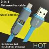 2 в 1 Micro 8-pin USB  кабель для iPhone6 iPhone 6Plus iPhone 5  iPhone 5S iPad 4 iPad  5   Samsung S4 S5 S6 Android смартфонов доска для объявлений dz 1 2 j8b [6 ] jndx 8 s b