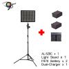 aputure h528c (модернизации al-528c) кри - 95 светодиодный Light + eachshot sn304 легких стоять + 2 пк np-f970 + двойной зарядное устройство
