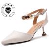 женские туфли на высоком каблуке Повседневная женская обувь Дышащие женские сандалии Модные женские туфли1851