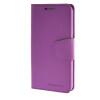 MOONCASE чехол для Samsung Galaxy Note 5 PU Leather Flip Wallet Card Slot Stand Back Cover Purple mooncase чехол для iphone 6 plus 5 5 pu leather flip wallet card slot stand back cover purple