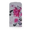 MOONCASE Цветочный стиль Кожа Нижняя Флип Чехол чехол для Samsung Galaxy I9600 S5 samsung g900h galaxy s5 16гб белый в омске