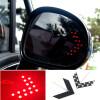 красная стрела, группа 2pcs 14 SMD привел сигнала поворота индикатор для автомобилей