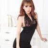 GFM сексуальное женское белье сексуальное облегающее недоуздок ремни Ци B юбка 2027 черный жилет белье пижамы 5 x play mini tickler pleaser черная