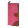MOONCASE Xperia Z1 L39h , Leather Wallet Flip Card Holder Pouch Stand Back ЧЕХОЛ ДЛЯ Sony Xperia Z1 L39h Hot pink пылесос samsung sc20m251awb синий vc20m251awb ev