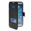 все цены на MOONCASE View Window Leather Side Flip Pouch Stand Shell Back ЧЕХОЛДЛЯ Samsung Galaxy S4 I9500 Black