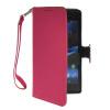 MOONCASE Лич кожи Кожа Флип сторона кошелек держателя карты Чехол с Kickstand чехол для Sony Xperia Z1 L39h ярко-розовый эхолот lucky ff718 lic 1 луч