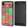 все цены на  MOONCASE чехол для Sony Xperia M4 Pattern series Flexible Soft Gel TPU Silicone Skin Slim Durable Cover  онлайн