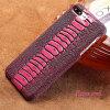 Фото Чехол из натуральной кожи для iPhone 7 8 Plus Case Ostrich Foot Text Back Back для X 6 6S Plus Case gumai silky case for iphone 6 6s black