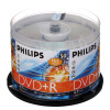 Philips (PHILIPS) DVD + R диски скорости 16 ствола 50 4,7 г philips philips dvd r dl 8 скоростные двусторонние диски 8 5gb 10 packed
