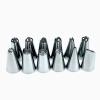Cntomlv 14 набор шт Силиконовой обледенения труб кондитерские изделия крем мешок 12шт нержавеющей стали сопла кондитерские советы кондитерские изделия