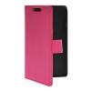 MOONCASE тонкий кожаный бумажник флип сторона держателя карты Чехол с Kickstand чехол для LG F70 ярко-розовый