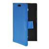 MOONCASE Slim Leather Flip Wallet Card Pouch with Kickstand Shell Back ЧЕХОЛДЛЯ Nokia X2 Blue синий slim robot armor kickstand ударопрочный жесткий корпус из прочной резины для vivo x9plus