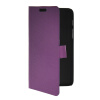 MOONCASE Slim Leather Flip Wallet Card Pouch with Kickstand Shell Back ЧЕХОЛДЛЯ Samsung Galaxy Tab Q T2558 Purple mooncase slim leather flip wallet card pouch with kickstand shell back чехолдля samsung galaxy s5 i9600 purple