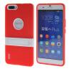 MOONCASE Huawei Дело Желе Цвет силиконовый гель ТПУ Тонкий с подставкой обложка чехол для Huawei Honor 6 Plus Красный цена 2017