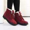 женщины зимних сапог модных женщин сапоги мех снег сапоги женщин лодыжку boot зимнюю обувь теплый снег.