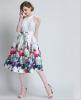 Lovaru ™ женские осенние 2015 новый цветок пояса талии юбки Туту юбки Hiqh доставленных юбки guzella юбки женские