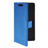 MOONCASE Slim Leather Flip Wallet Card Pouch with Kickstand Shell Back ЧЕХОЛДЛЯ HTC Desire 700 Blue синий slim robot armor kickstand ударопрочный жесткий корпус из прочной резины для vivo x9plus