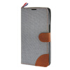 MOONCASE Alcatel One Touch POP C9 , Leather Flip Card Holder Pouch Stand Back ЧЕХОЛ ДЛЯ Alcatel One Touch POP C9 Grey alcatel one touch pop 3 5025d silver
