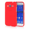 MOONCASE Transparent Soft Flexible Silicone Gel TPU Skin Shell Back ЧЕХОЛ ДЛЯ Samsung Galaxy Core Prime G360 Red аксессуар чехол samsung galaxy a3 2017 cojess tpu 0 3mm transparent