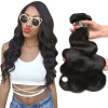 Nami Hair High Quality 3 Bundles Brazilian Body Wave Virgin Hair Extensions 8-32 Human Hair Weave Bundles 65 hanks high quality stallion black bow hair 32 inches 6 grams each hank