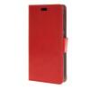 MOONCASE Smooth PU Leather Flip Wallet Card Slot Bracket Back чехол для HTC Desire 320 Red htc desire 320 8gb vanilla white