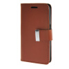 MOONCASE чехол для Samsung Galaxy Core 2 II Duos G355H Flip Leather Wallet Card Slot Bracket Back Cover Brown аксессуар чехол samsung sm g355h galaxy core 2 duos gecko black