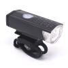 Перезаряжаемый USB 300lm светодиодный велосипед фонарик фонарь MTB переднего велосипеда Велоспорт свет фар фары велосипед аксессуары