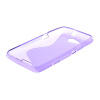 MOONCASE S - линия Мягкий силиконовый гель ТПУ защитный чехол гибкой оболочки Защитный чехол для Sony Xperia E4G фиолетовый