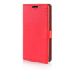 MOONCASE Litch Skin Leather Side Flip Wallet Card Slot Pouch Stand Shell Back ЧЕХОЛ ДЛЯ LG G3 Stylus D690 Red mooncase litchi skin золото chrome hard back чехол для cover lg g4 золото