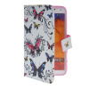 MOONCASE Pattern Style Leather Side Flip Wallet Card Slot Pouch Stand Shell Back ЧЕХОЛДЛЯ Samsung Galaxy Note 3 N9000 protective pu leather case w card slot for samsung galaxy note 3 n9000 deep blue