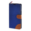 MOONCASE Alcatel One Touch POP C9 , Leather Flip Card Holder Pouch Stand Back ЧЕХОЛ ДЛЯ Alcatel One Touch POP C9 Dark blue alcatel one touch pop d5 5038d fashion blue