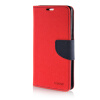MOONCASE Cross pattern Leather Side Flip Wallet Card Slot Pouch Stand Shell Back ЧЕХОЛДЛЯ Samsung Galaxy A7 Red mooncase classic cross pattern leather side flip wallet slot pouch stand shell back чехолдля htc desire 816 black brown