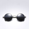 2018 Мужские ретро-объективы Круглые солнцезащитные очки Ретро очки Очки Модные солнцезащитные очки Ретро УФ-резиста Ретро-солнцезащитные очки