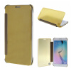 MOONCASE Samsung Galaxy S6 Edge Plus ЧЕХОЛ ДЛЯ Hard Plastic Design Flip Pouch Gold mooncase samsung galaxy s6 edge plus чехол для hard plastic design flip pouch sapphire