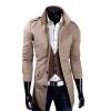 zogaa новые мужчины, ветер пальто слим случайные пальто пальто