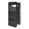 MOONCASE View Window Leather Side Flip Pouch Stand Shell Back ЧЕХОЛ ДЛЯ Samsung Galaxy Grand Prime G5306W Sapphire