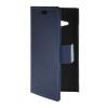 MOONCASE Slim Leather Side Flip Wallet Card Slot Pouch with Kickstand Shell Back чехол для Nokia Lumia 730 Blue синий slim robot armor kickstand ударопрочный жесткий корпус из прочной резины для vivo x9plus