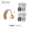 Устройства для прослушивания Brand New Audisound Усилитель звука для слухового аппарата для старейшины с батареей CARD A675 60PCS / 10