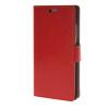 MOONCASE Гладкая кожа PU кожаный чехол бумажник флип карты отойти чехол для Huawei Ascend P8 Красный юбка brusnika brusnika br032ewwsq30